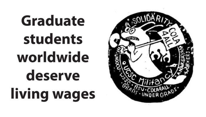 Graduate students worldwide deserve living wages