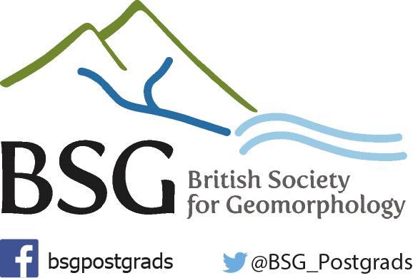 The British Society for Geomorphology Logo (Credit: BSG)