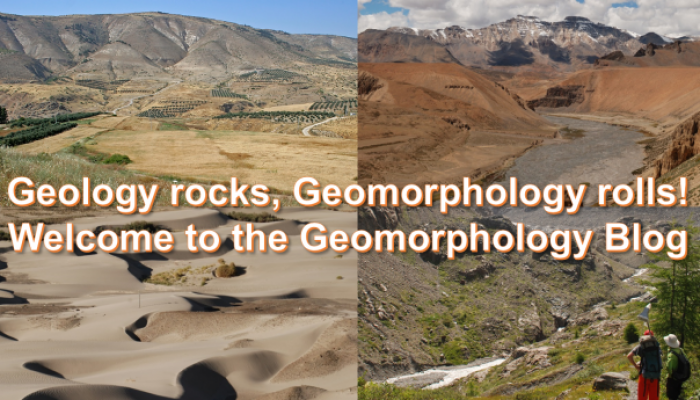 Welcome to the new Geomorphology Blog