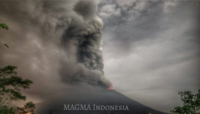 Update on the Agung volcanic eruption in Indonesia