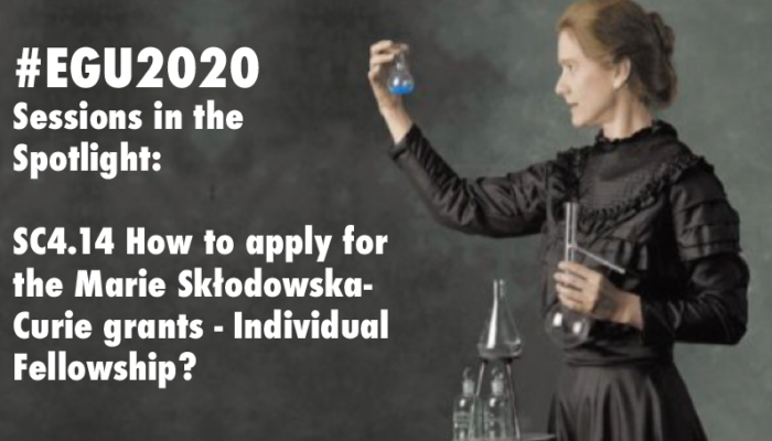#EGU2020 Sessions in the Spotlight: How to Apply for a Marie Skłodowska-Curie grant