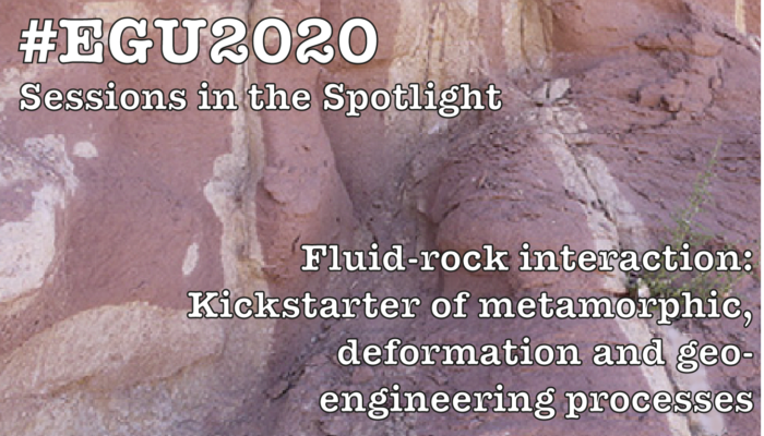 #EGU2020 Sessions in the Spotlight: Fluid-rock interaction: Kickstarter of metamorphic, deformation and geo-engineering processes