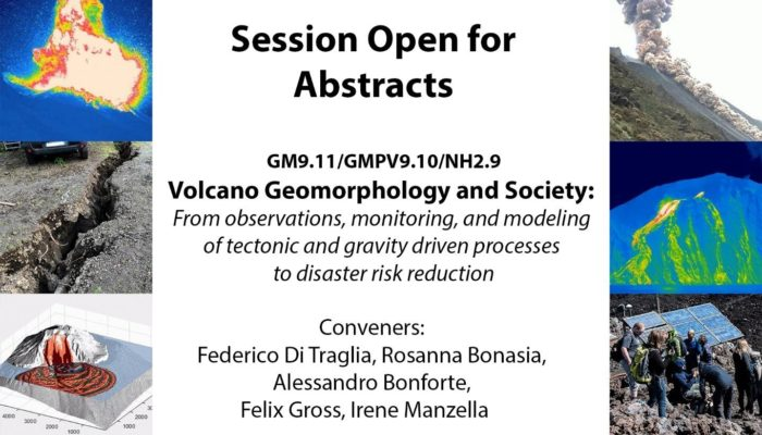 #vEGU21 – Session in the Spotlight: Volcano Geomorphology and Society: From observations, monitoring, and modeling of tectonic and gravity driven processes to disaster risk reduction