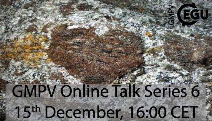 GMPV ECS online talks: Tuesday 15 December