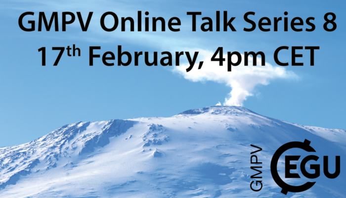 GMPV ECS online talks: Wednesday 17th February 4pm CET