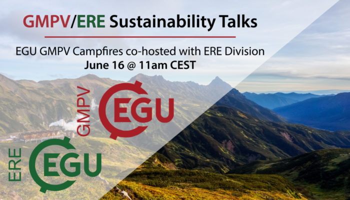 GMPV Campfires co-hosted with ERE Division: Sustainability Talks! Wednesday 16th June @ 11am CEST