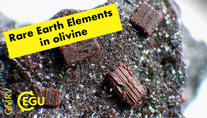 Rare Earth Elements…..in olivine?