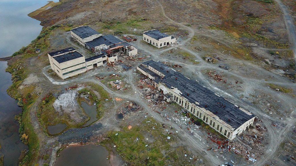 Site of the Kola superdeep borehole, Russia. 2020