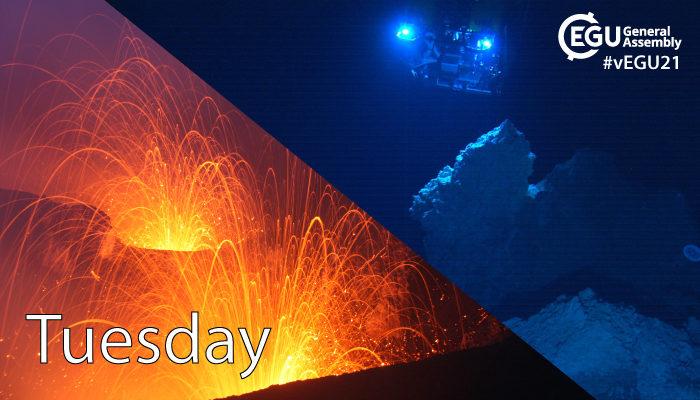 vEGU21: Tuesday highlights