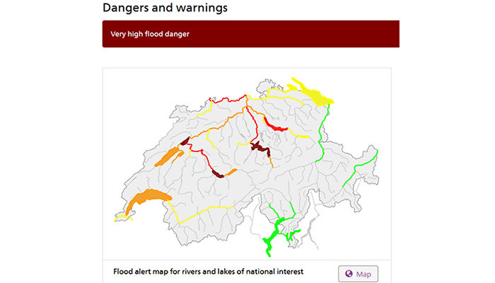 Hydrological modelling in times of flooding