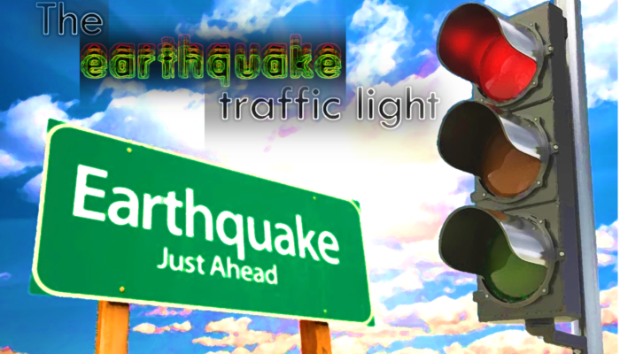 The earthquake traffic light