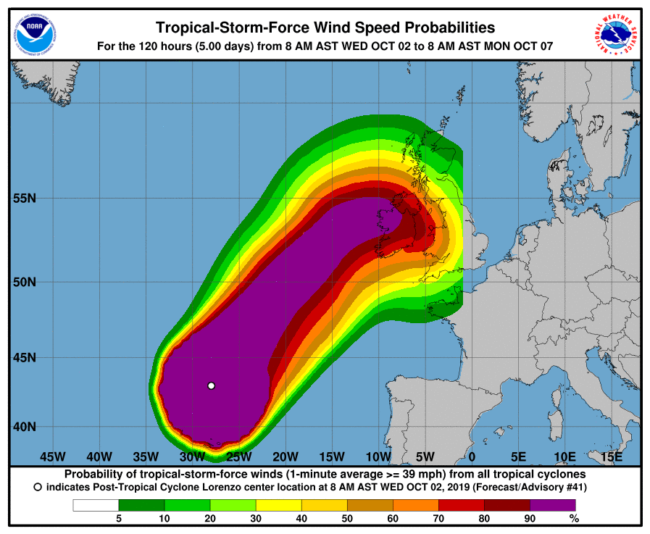 After Lorenzo and Ophelia, should we prepare European coasts for tropical storms and hurricanes?