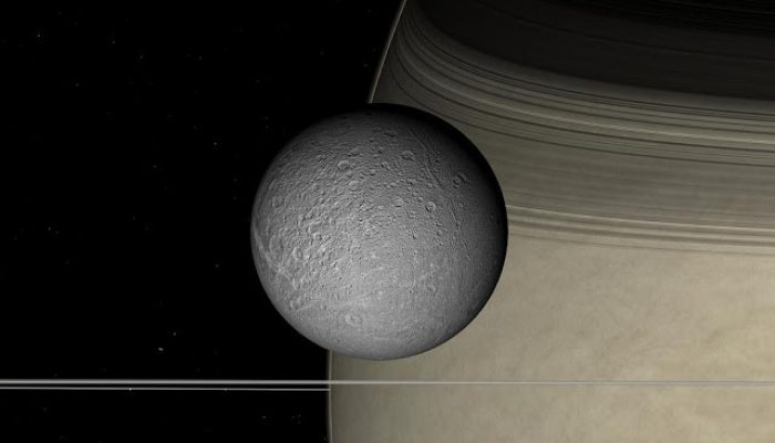 A water ocean inside Saturn's moon Dione