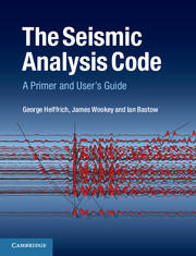 The Seismic Analysis Code A Primer and User's Guide