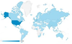 This page, the SM Division blog, has a regular viewership from around the globe.