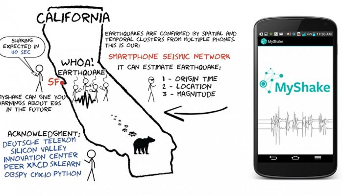 MyShake – your phone as a seismic station