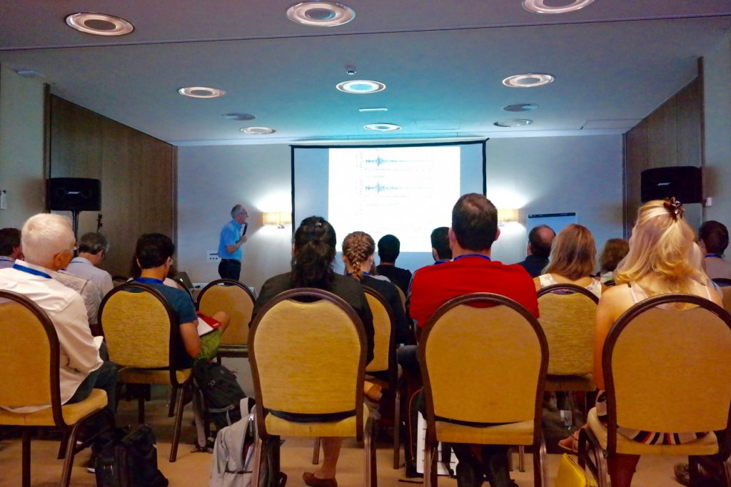 Roel Sneider talking about measuring and interpreting time-lapse changes in recorded waveforms.