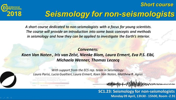 Seismology for non-seismologists