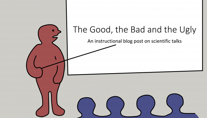 Scientific Talks: The Good, the Bad and the Ugly