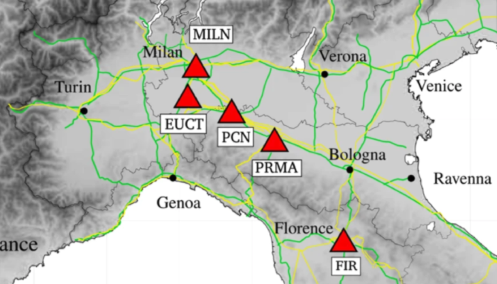 Lockdown in Northern Italy, what did seismology see?