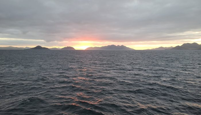 Thirty-nine days onboard the Langseth