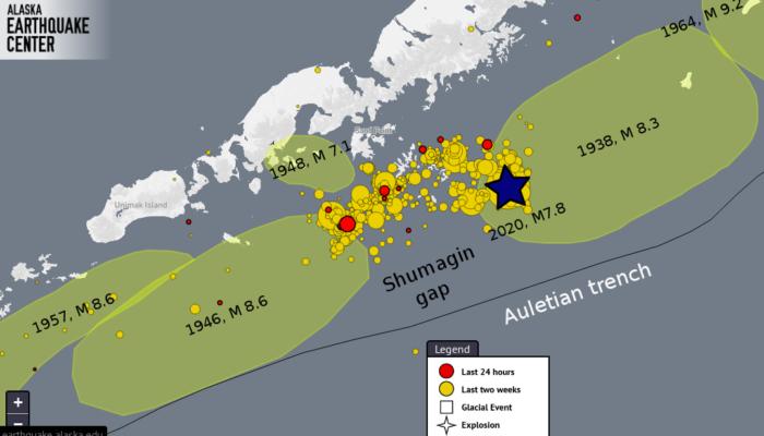 Earthquake of the month: Simeonof – Alaska M 7.8