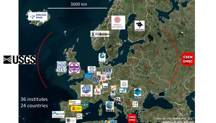 Crowdsourcing in Europe: how to share macroseismic data of felt earthquakes ?