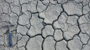 Modern desiccation cracks in blue clay derived from the early Cambrian Lontova Formation near Kunda in Estonia. Credit: Wikipedia user Pikne. This file is licensed under the Creative Commons Attribution-Share Alike 2.5 Generic license.