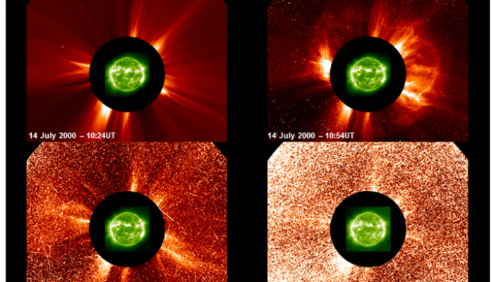 Web-based Tools for Forecasting Solar Particle Events and Flares