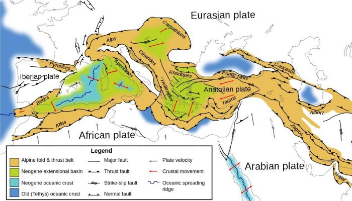 Tectonics And Structural Geology Anatolia
