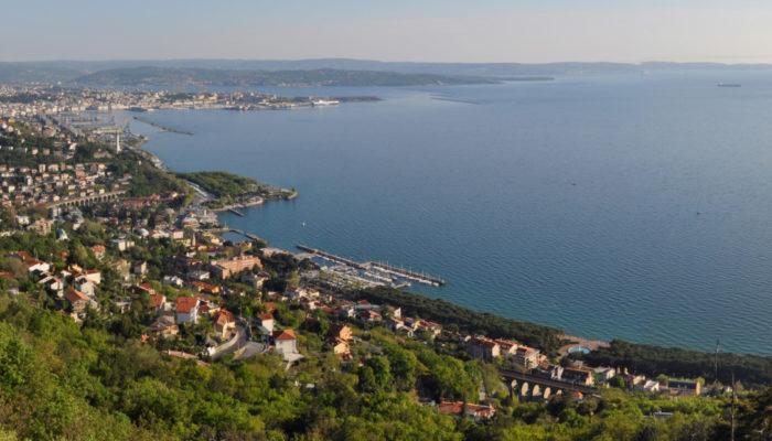 Trieste, where the word Karst originates