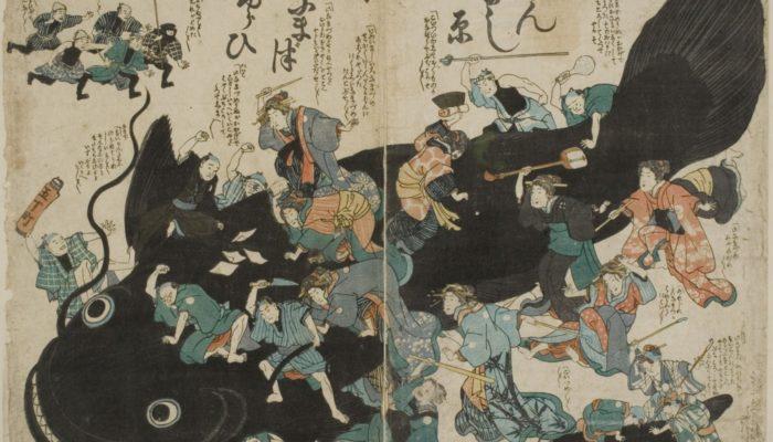 Geomythology: Japan's Earthquakes – The work of Namazu?