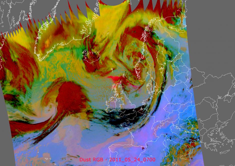 Grímsvötn Altitude Imagery, copyright EUMETSAT (2011)