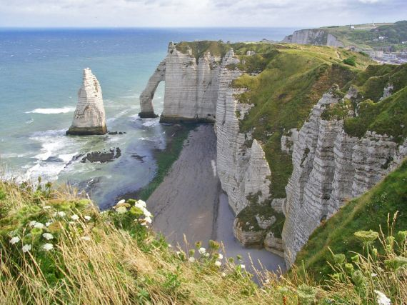 Geolog Imaggeo On Mondays The Chalk Cliffs Of Etretat Geolog