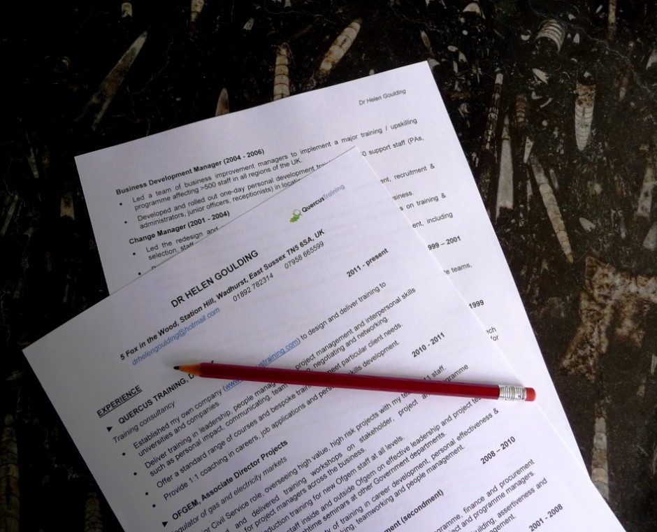 how to write a good job application