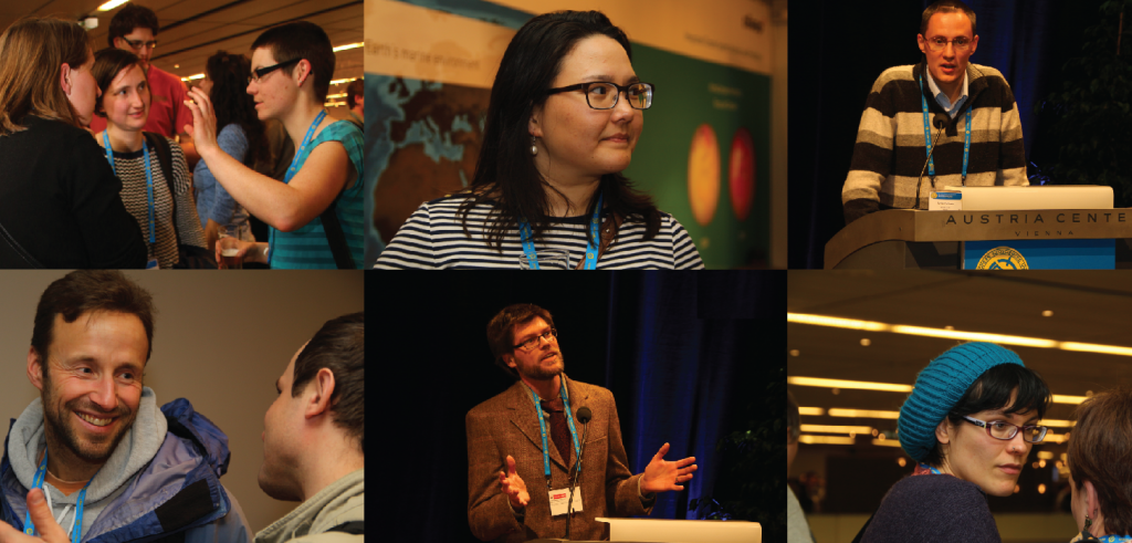Young scientists at EGU 2013