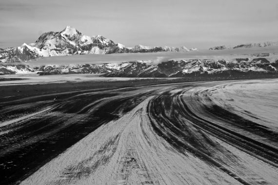 """""""Mt St Elias and Malaspina"""" by Jean-Daniel Champagnac, distributed by the EGU under a Creative Commons licence."""