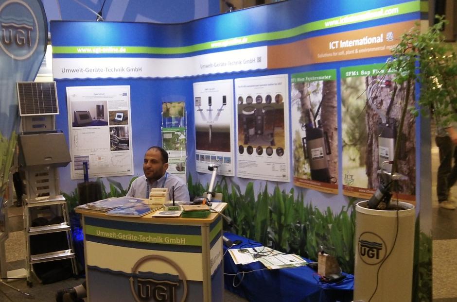 The Exhibition at EGU 2013 (Credit: Sue Voice)