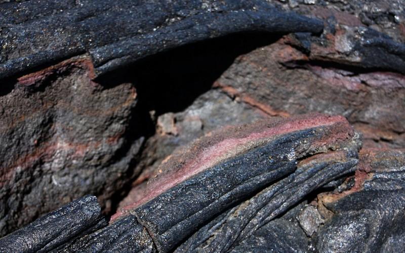 Pahoehoe lava. (Credit: Martin Mergili via imaggeo.egu.eu)