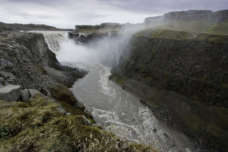 Dettifoss waterfall, Iceland (Credit: Neil Davies, via imaggeo.egu.eu)