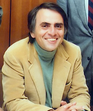 Even the great Carl Sagan found the critique of his work difficult to stomach (Photo credit: NASA JPL, via Wikimedia Commons).