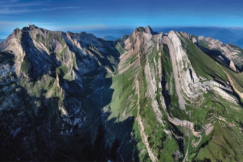 Helvetic Nappes of Switzerland. (Credit: Kurt Stüwe, via imaggeo.egu.eu)