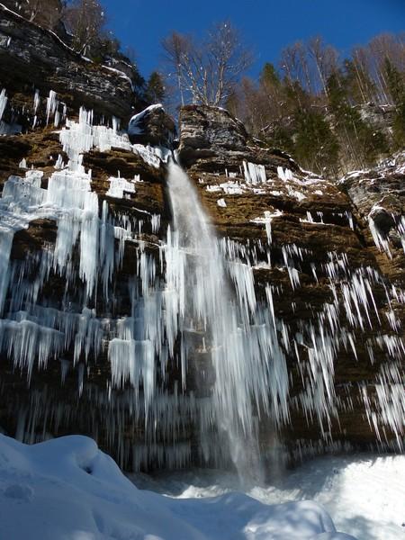 Peričnik waterfall, an amazing sight in Slovenia's Triglav National Park. (Credit: Cyril Mayaud, distributed by imaggeo.egu.eu)