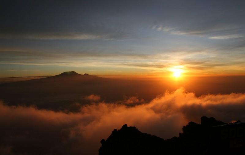 Kilimanjaro from Mount Meru Credit: Alexis Merlaud (distributed via imaggeo.egu.eu)