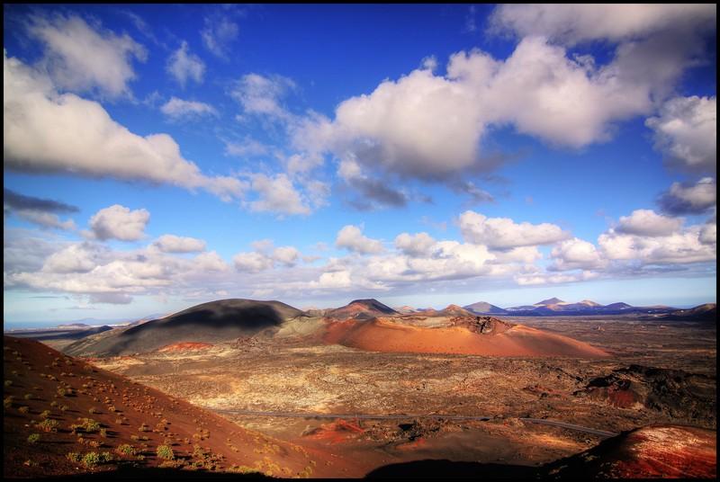 Parque Nacional de Timanfaya – Montañas del Fuego, Lanzarote. Header image of September 2014. (Credit: Frederik Tack distributed via imaggeo.egu.eu)