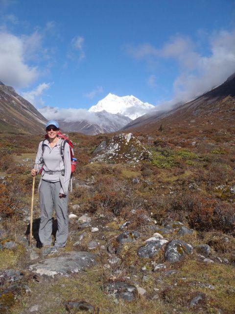 Field work in Bhutan. (Credit: Stacia M. Gordon)
