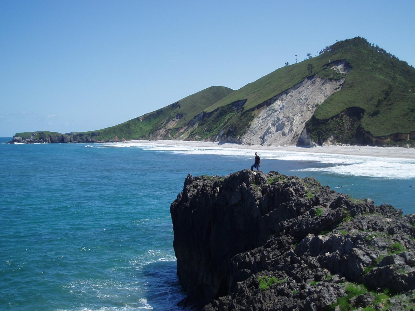 Landslide on the Cantabrian Sea. Credit: Irene Pérez Cáceres (distributed via imaggeo.egu.eu)
