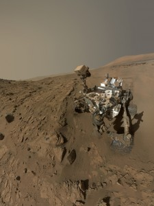 Like previous missions to Mars, Curiosity is detecting only simple organic compounds with chlorine attached. Image Credit: NASA/JPL-Caltech/MSSS