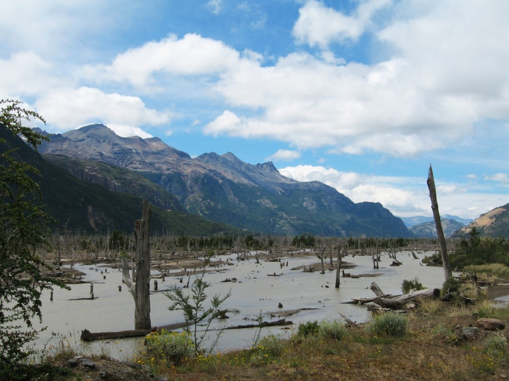 Patagonia Landscape. Credit: Lucien von Gunten (distributed via imaggeo.egu.eu)