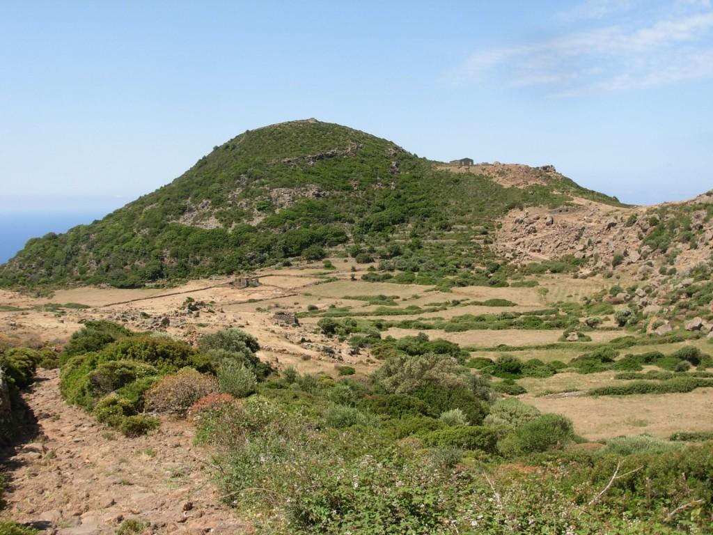 Geothermal area at Favara Grande, Pantelleria Island, Italy. Credit: Walter D'Alessandro.